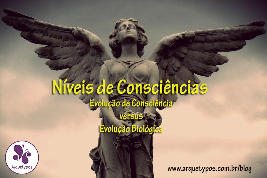 Níveis de Consciência: Evolução de Consciência versus Evolução Biológica.